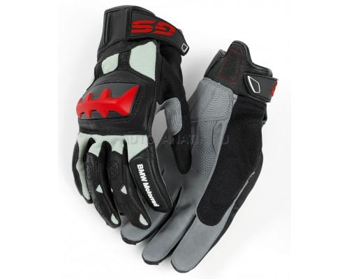 Мотоперчатки BMW Motorrad Rallye Glove, Unisex, Black/Red