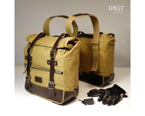 Две универсальные боковые сумки