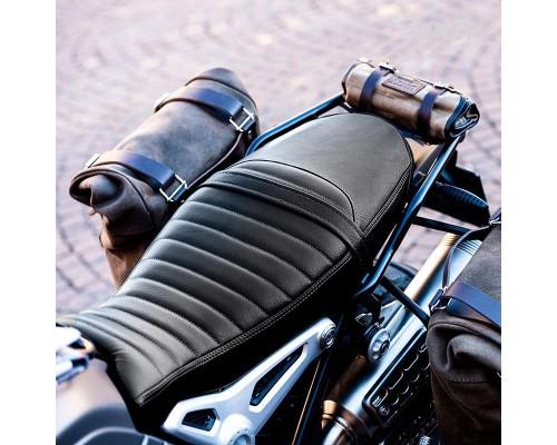 Кожаный чехол на сиденье, цвет черный