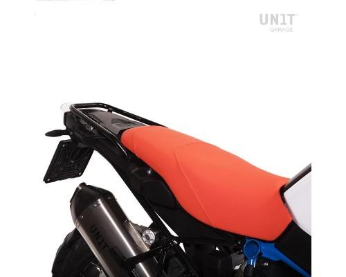 Оранжевый чехол на сиденье Rallye