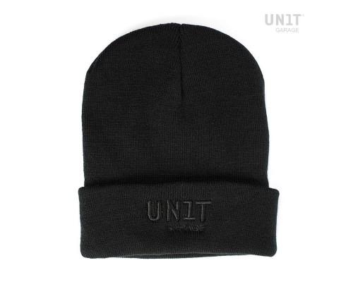 Черная шапка Unit garage