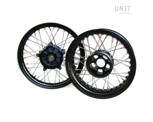 Черные бескамерные диски UNIT garage