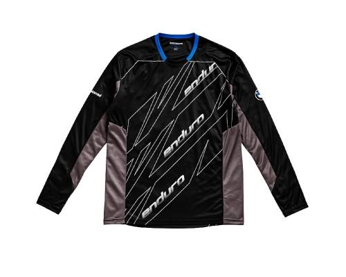Черная рубашка с длинным рукавом BMW Motorrad Adventure Enduro