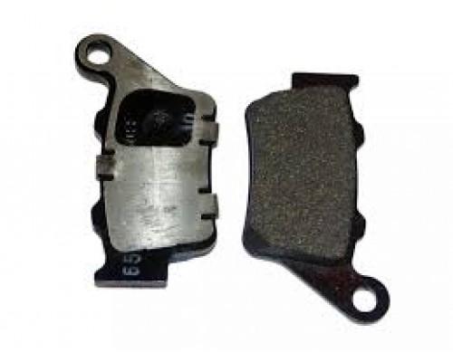 Комплект тормозных колодок задних колес