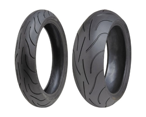 Моторезина Michelin Pilot Power 120/70 ZR17 58W TL Передняя (Front)