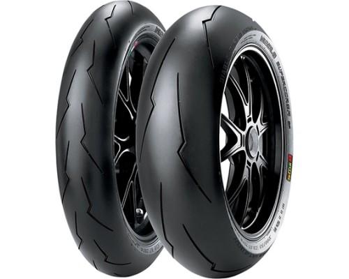 Моторезина Pirelli Diablo Supercorsa V3 120/70 ZR17 58W TL Передняя (Front) SC1