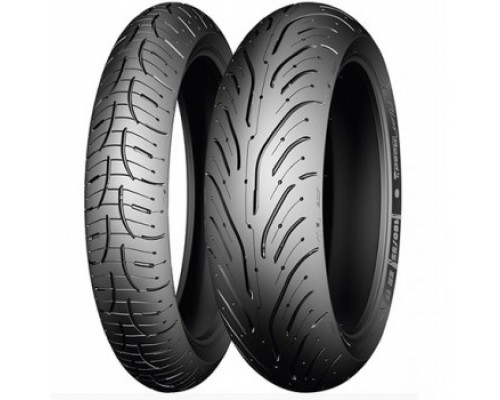 Моторезина Michelin Pilot Road 4 120/70 ZR17 58W TL Передняя (Front)
