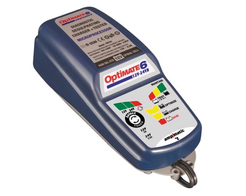Зарядное устройство OptiMate 6 12/24V (1x5/2.5A, 12/24V)