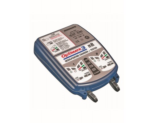 Зарядное устройство OptiMate 3 DUAL BANK (2x0,8A, 12V)