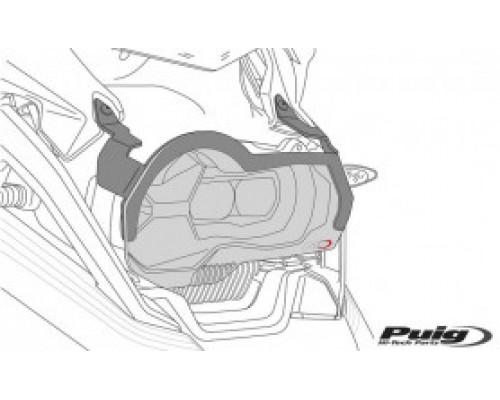 Защита фары BMW R1200GS 2013, прозрачная