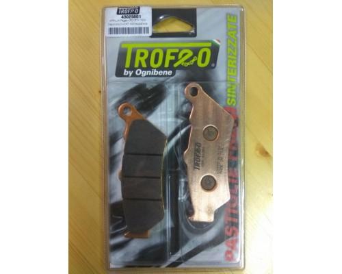 Колодки дискового тормоза Trofeo Sintered 256 пд