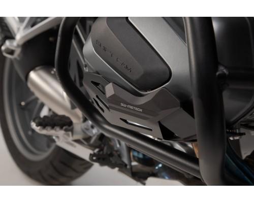 Защита цилиндров для BMW R 1250 GS/Adv, R 1250 RS/ RT, чёрная