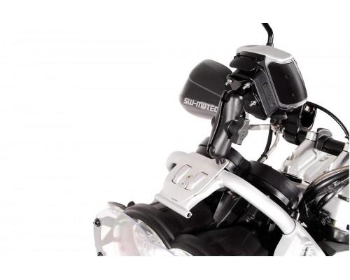Крепление навигатора/смартфона в приборную панель для BMW R1200GS (08-12)