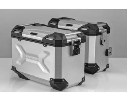 Комплект багажных кофров и креплений к ним для BMW R1200GS/ADV (серебристый)