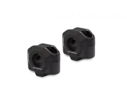 Проставки для руля d 22 мм. H=20 мм, черный