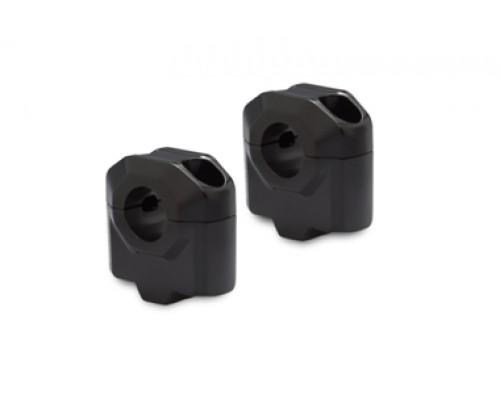 Проставки для руля d 22 мм. H=30 мм, черный