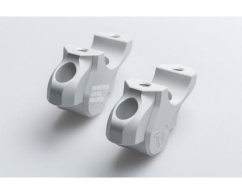 Проставки руля для BMW R 1200 GS LC / Adv. (13-) серебристый