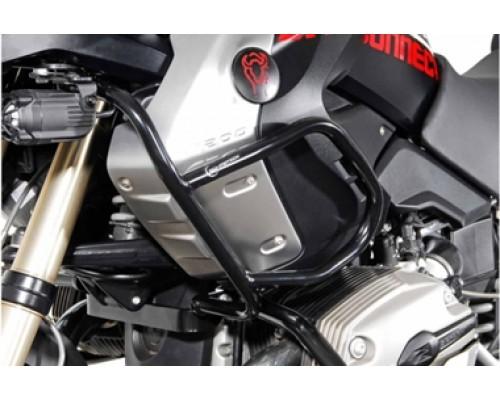 Верхние защитные дуги, черные для BMW R1200GS (04-07)