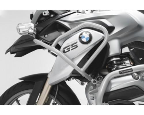 Верхние защитные дуги,серебристыедля BMW R 1200 GS (13-16).