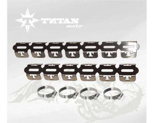 Защита выпускного коллектора TITAN moto