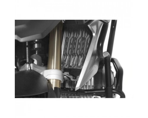 Защита радиатора BMW R1200/1250GS/GSA LC, серебристая