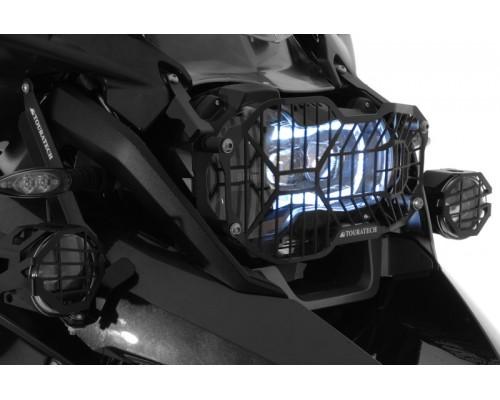 Защита LED фары BMW R1200GS/GSA LC, черная