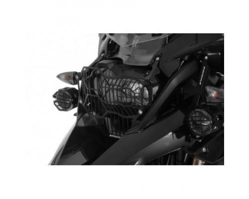 Защита галогеновой фары BMW R1200GS/GSA LC, черная