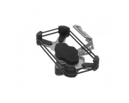 Комплект сменных силиконовых креплений iBracket, черные, 2 шт.
