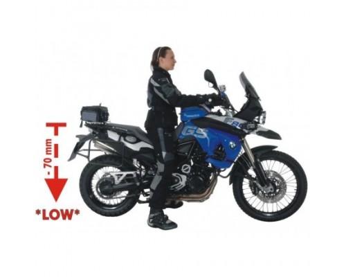 """Комплект занижения (амортизатор """"Level1"""", пружины, сиденье) BMW F800GS 08-12 - 70мм"""