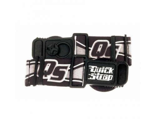 Крепежные ремни для эндуро очков QUICK STRAPS, черные