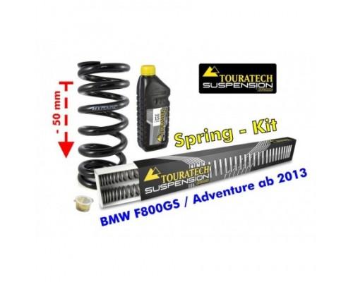 Комплект прогрессивных пружин BMW F800GS/GSA с 2013 - 50 мм