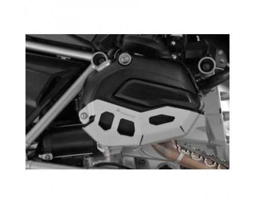 Защита цилиндров BMW R1200GS/GSA/R/RS LC, серебристая