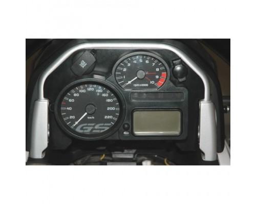 Накладка приборной панели с мал. и бол. розетками BMW R1200GS/Adv -2008