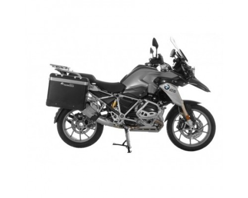 Комплект боковых кофров ZEGA Pro AND-Black 31/38 BMW R1200/1250GS/GSA LC