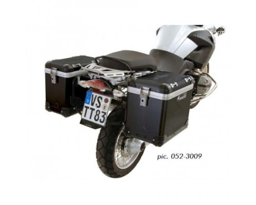 Комплект боковых кофров ZEGA Pro AND-Black 38/45, BMW R1200GS/GSA