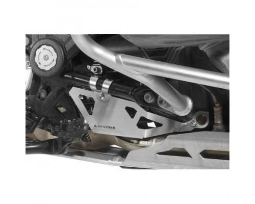 Защита клапана выхлопной трубы BMW R1200GS/GSA LC, серебро
