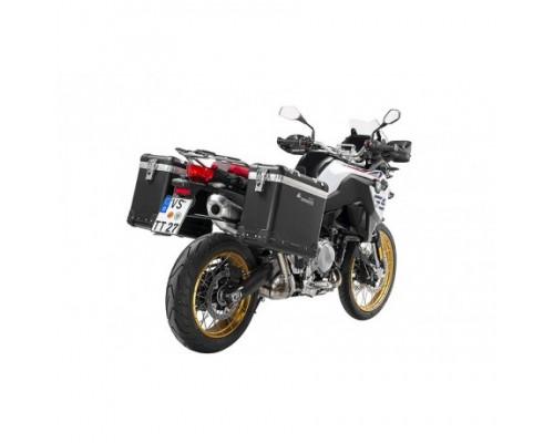 Комплект боковых кофров ZEGA Pro AND-BLACK 31/38 BMW F750/850GS/GSA черные рамки
