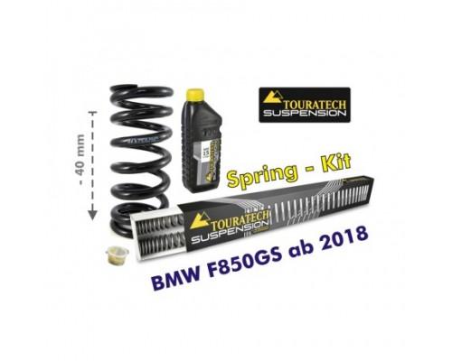 Комплект занижения подвески BMW F850GS 40mm