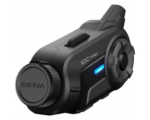 Мото гарнитура Sena 10C Pro Bluetooth с Экшен камерой