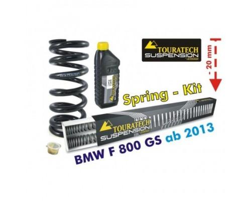 Комплект прогрессивных пружин BMW F800GS/GSA с 2013 - 20 мм