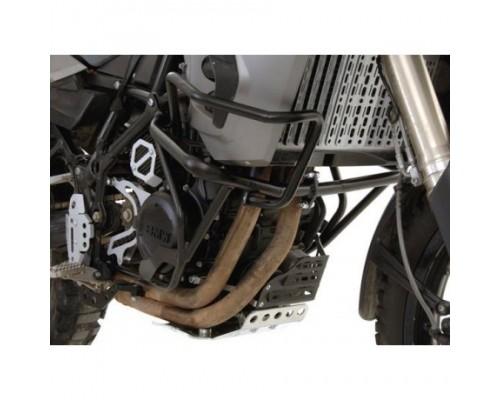 Дополнительные защитные дуги BMW F650/F800GS до 2012, черные