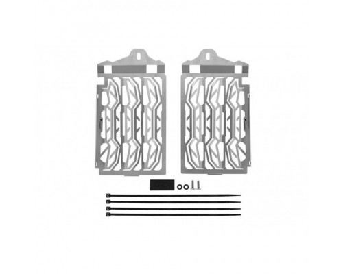 Защита радиатора BMW R1250GS/GSA, серебристая