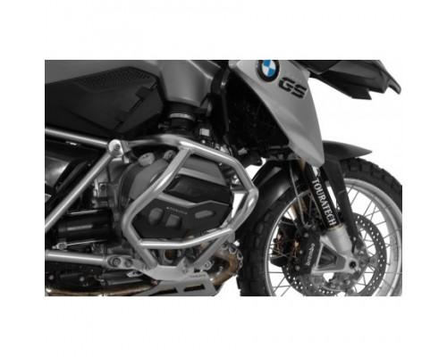 Защита цилиндров BMW R1200GS/GSA/R/RS LC, черная