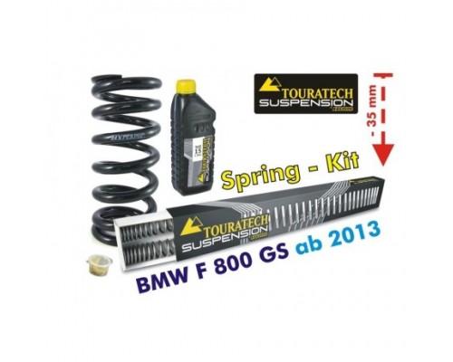 Комплект прогрессивных пружин BMW F800GS/GSA - 35 мм