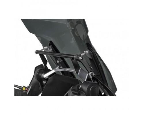 Дополнительный усилитель ветрового стекла с кронштейном GPS BMW R1200/1250/GS/GSA LC, черный