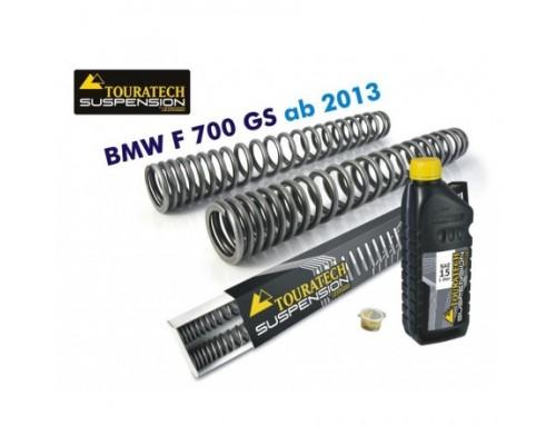 Прогрессивные пружины вилки BMW F700GS 2013-