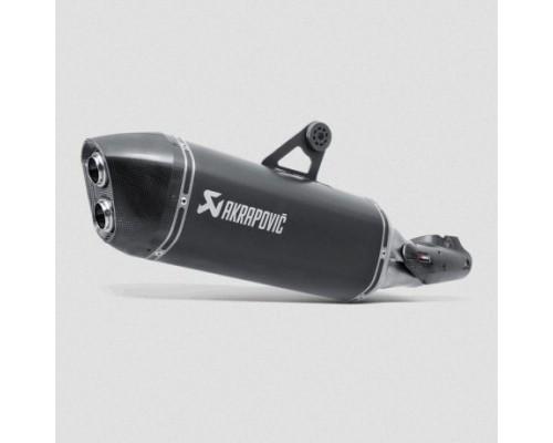 Выхлопная труба титан Akrapovic BMW R1200GS/GSA LC, черная