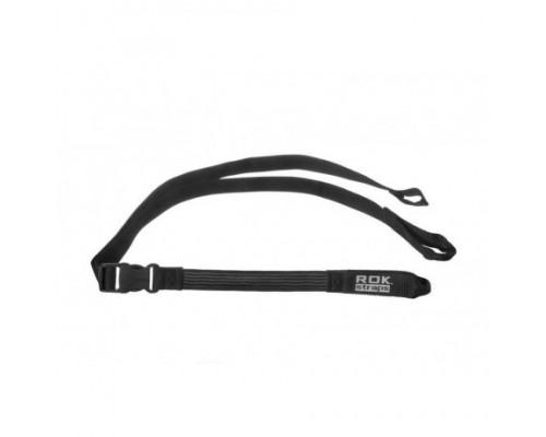Крепежные ремни ROK STRAP IT регулируемые, черные