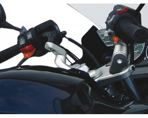Проставки руля ERGO BMW K1200GT серебро