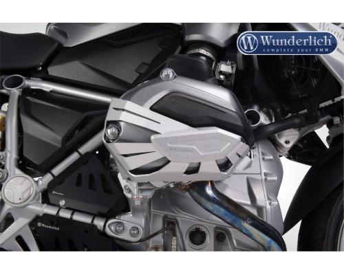 Защита крышек цилиндров BMW R1200GS LC/GSA LC/R LC/RS LC/RT LC серебро